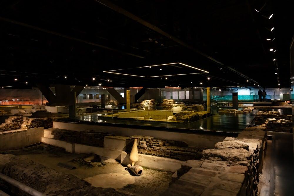 El Antiquarium de Sevilla, donde se pueden apreciar restos de la Bética romana.