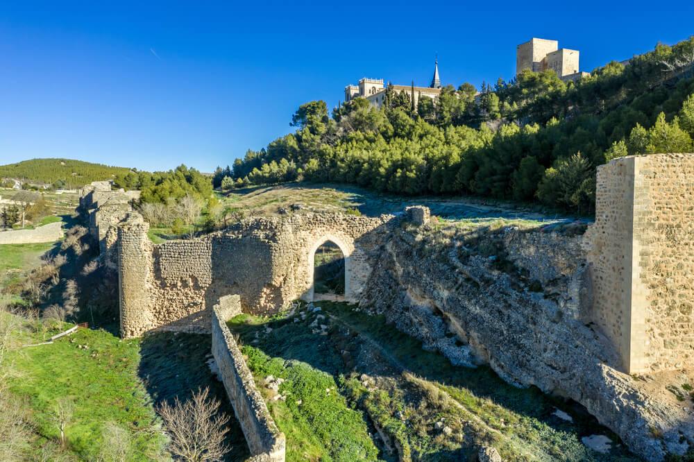 Uno de los ingresos al Monasterio de Uclés que permanecen intactos.
