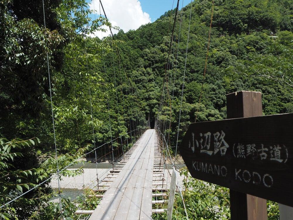 Tramo de la Ruta Kohechi de Kumano Kodo.