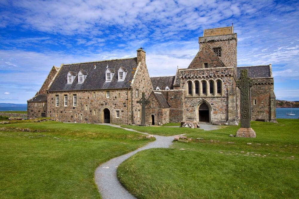 La Abadía de Iona, una de las más importantes de Europa.