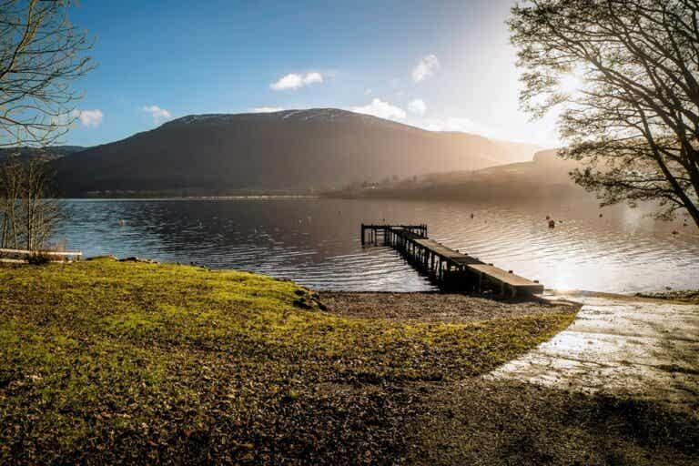 El Lago Earn y su propio sistema de mareas