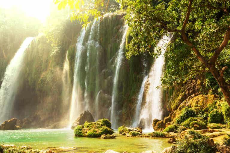 Las cataratas Ban Gioc: un hermoso paisaje