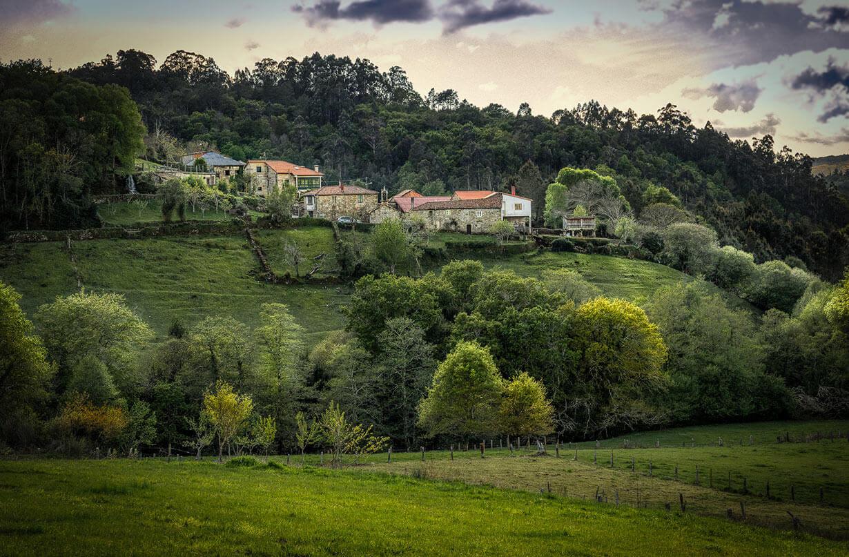 Paisaje rural de Cerdedo - Cotobade-