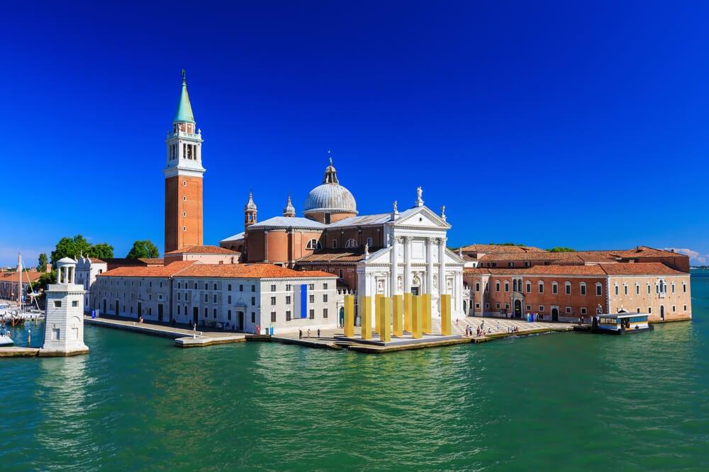 Iglesia de San Georgio Maggiore, en la laguna Veneta..