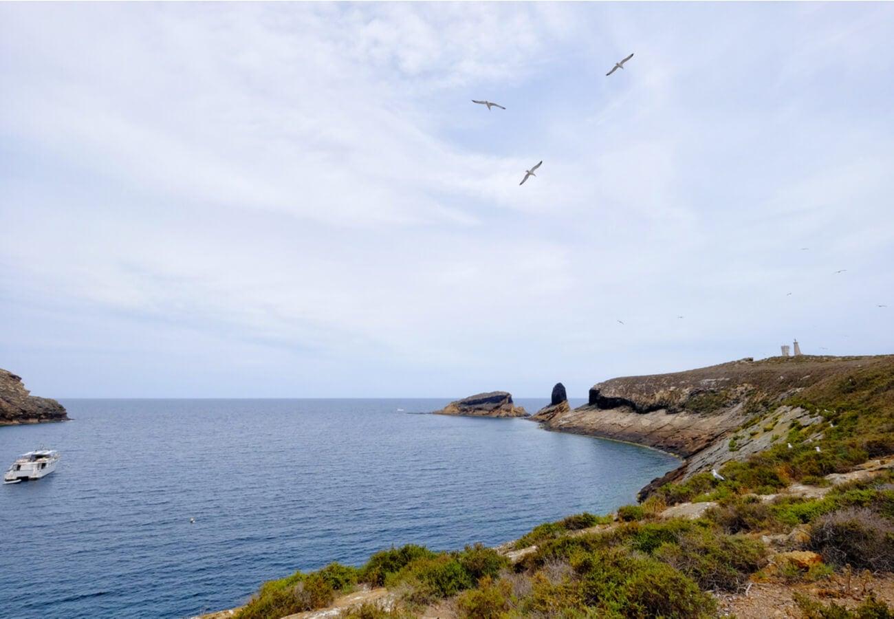 Costa de las Islas Columbretes, provincia de Castillón.