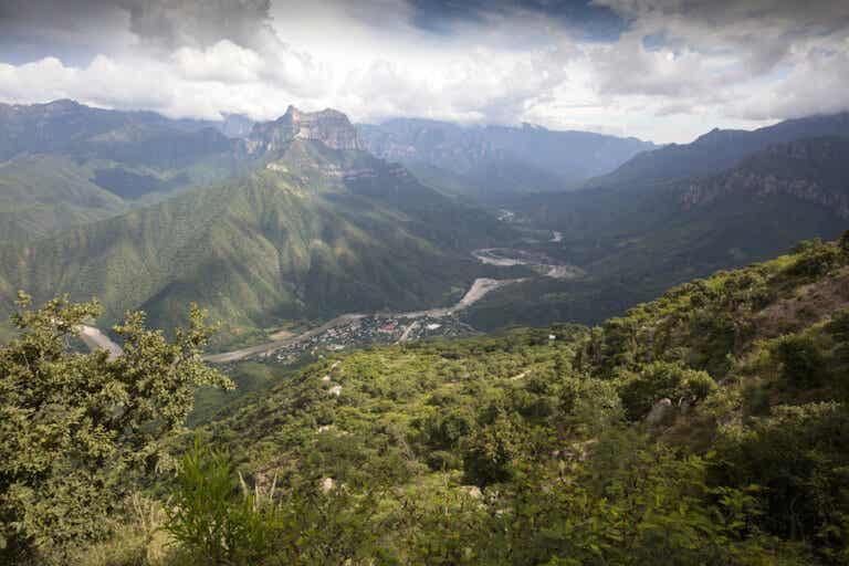 El mirador de Urique, un lugar muy natural
