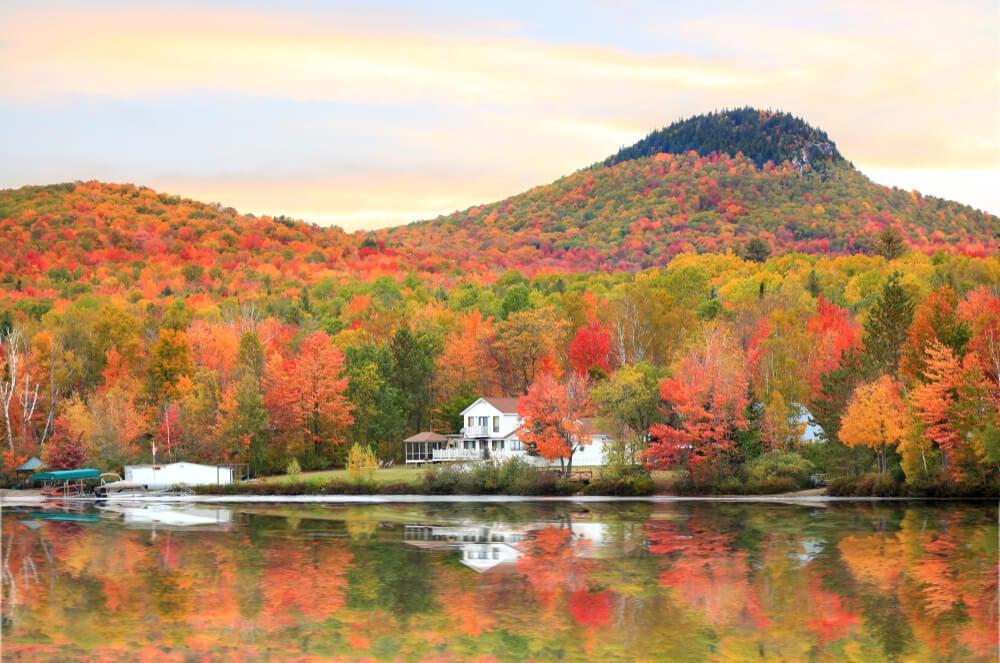 Vermont y sus pintorescos colores de otoño