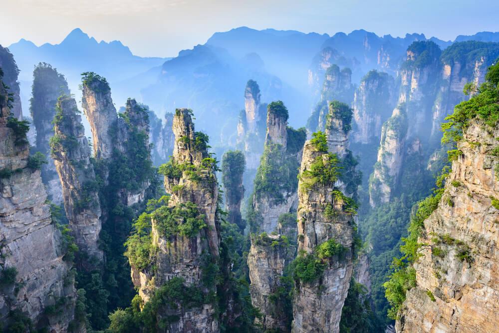 Wulingyuan: un lugar mágico