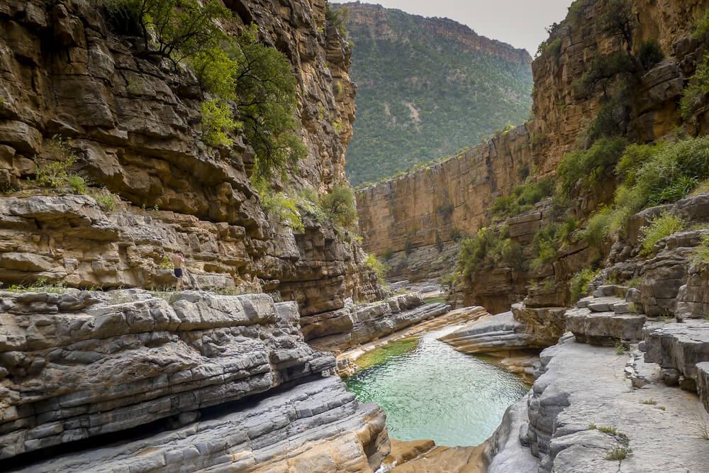 Caminata por Paradise Valley, una belleza natural de Marruecos.