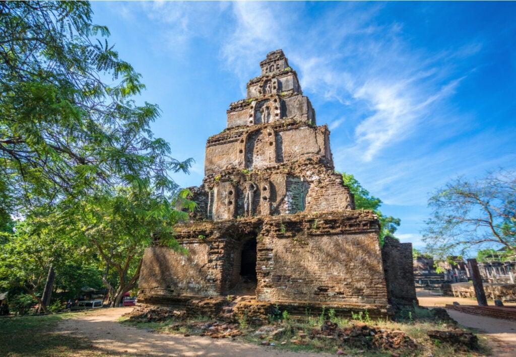 Las ruinas de Polonnaruwa, un atractivo excepcional de Sri Lanka.