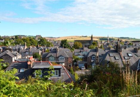 El pueblo de Stonehaven, un atractivo más de Escocia.