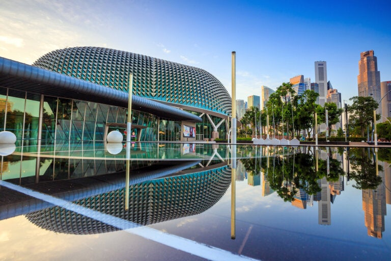 La asombrosa arquitectura de Singapur