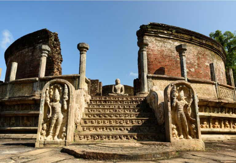 El Vatadage de Polonnaruwa: uno de los templos más antiguos