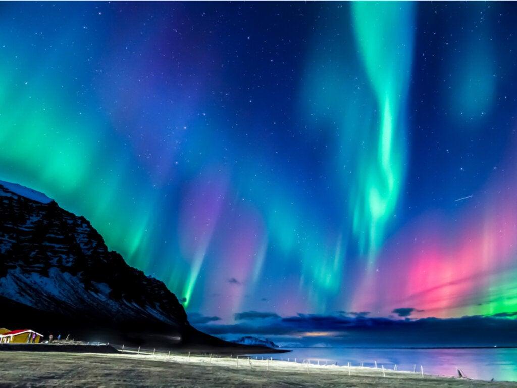 El invierno en Noruega y sus majestuosas auroras boreales