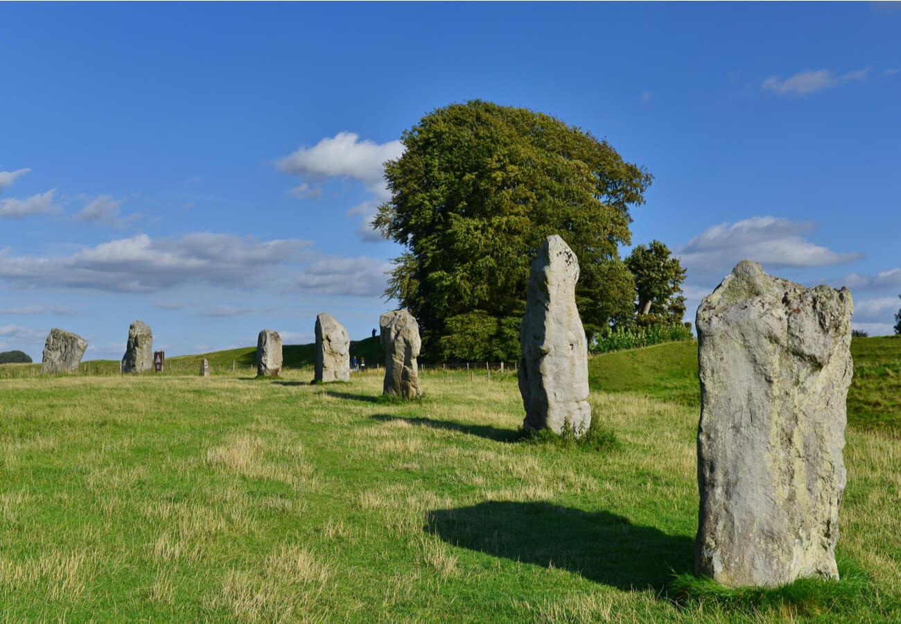 Este círculo se localiza cerca de las ruinas de Stonehenge.