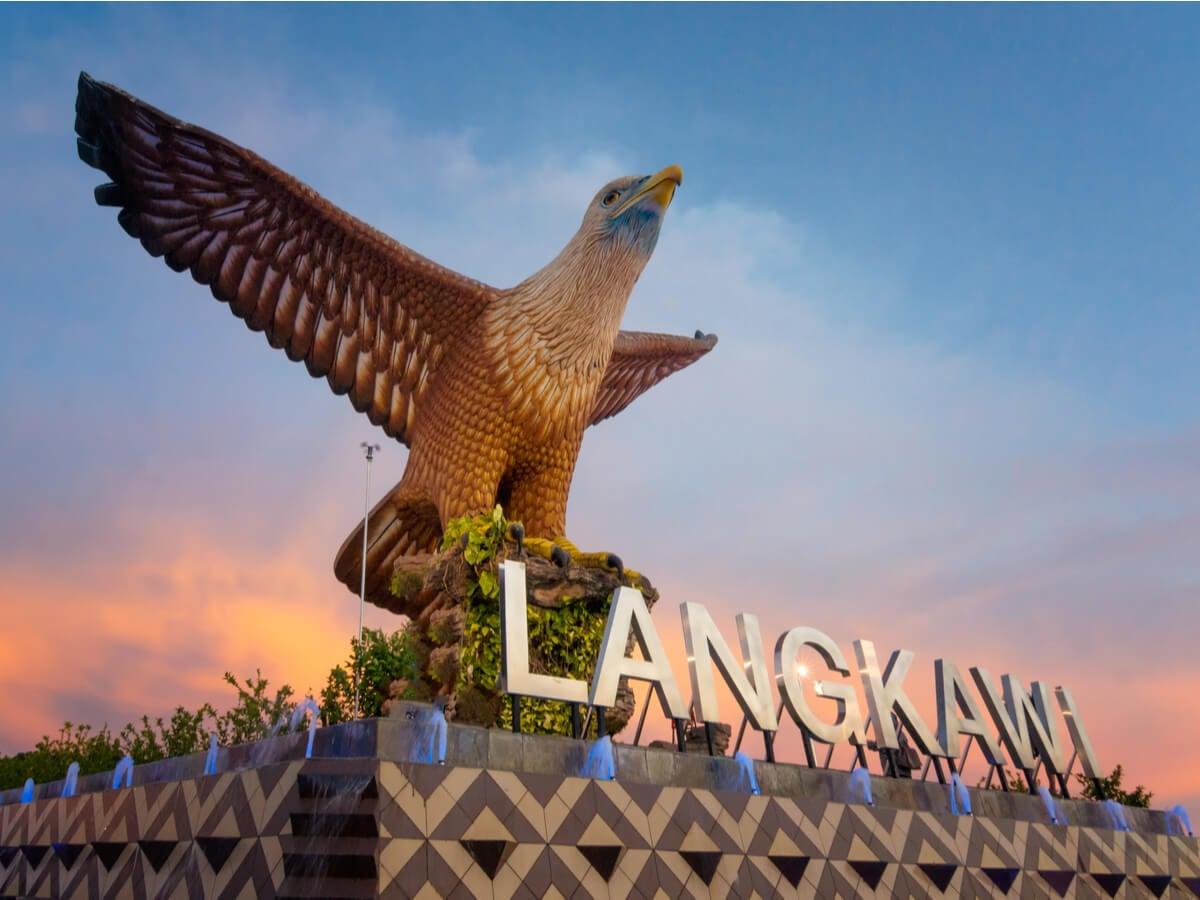 Eagle Square, uno de los puntos más atractivos de Langkawi.