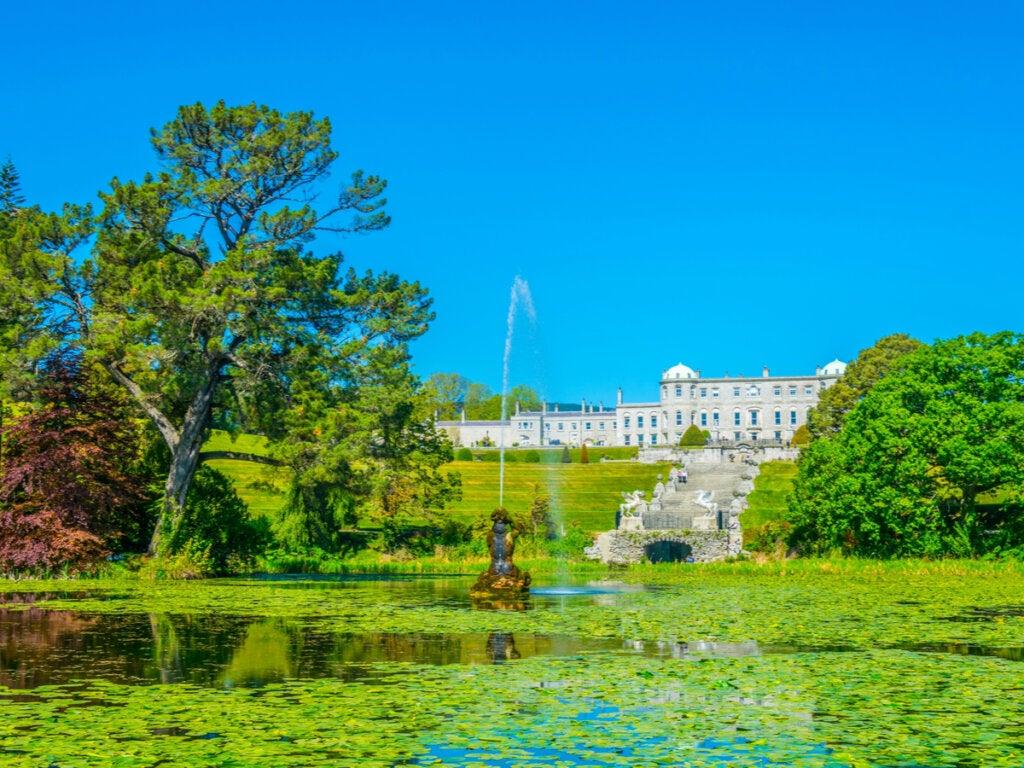 Powerscourt en Irlanda y sus hermosos jardines