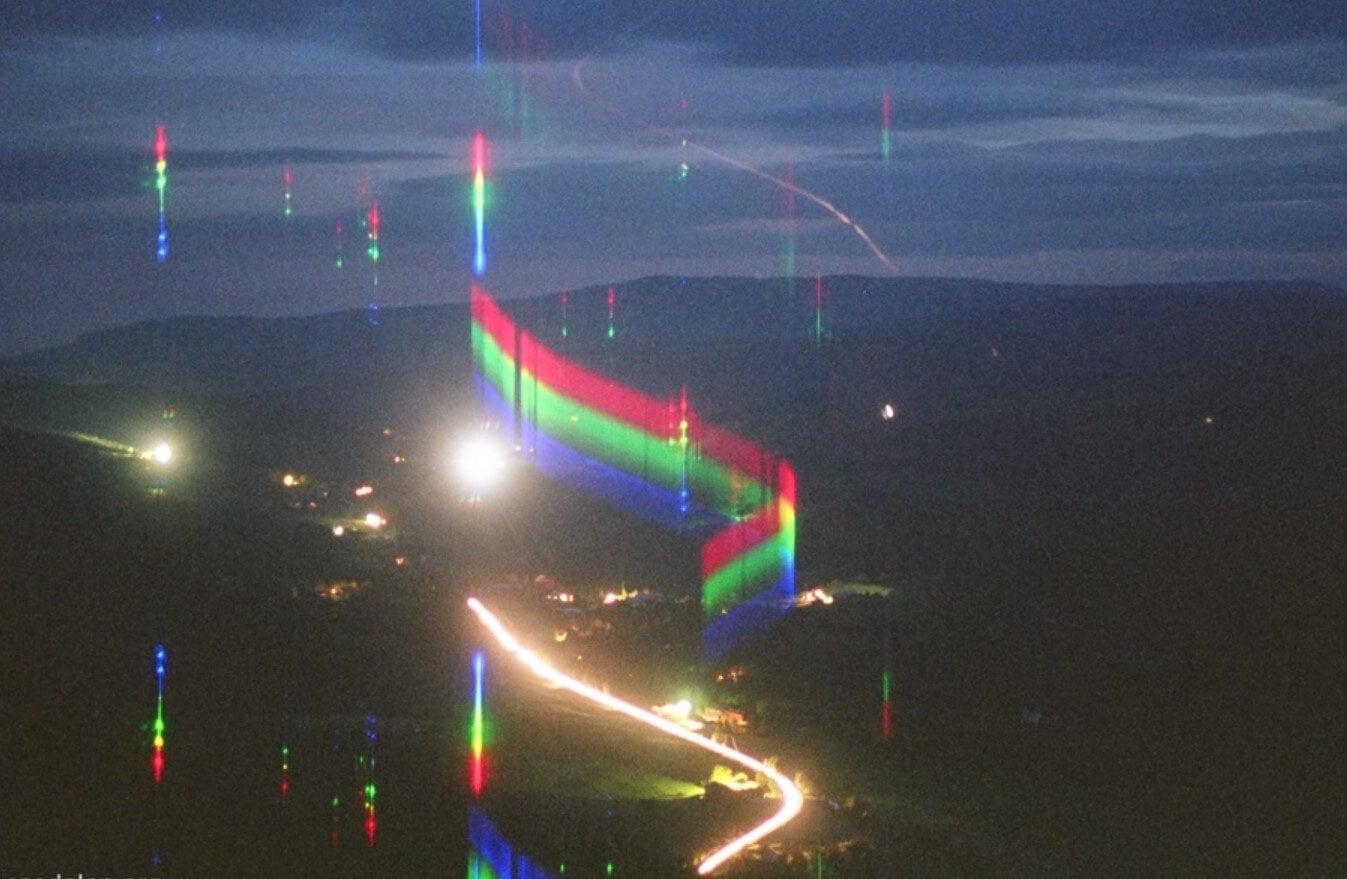 El extraño fenómeno de luces que ocurre en en Valle de Hessdalen.