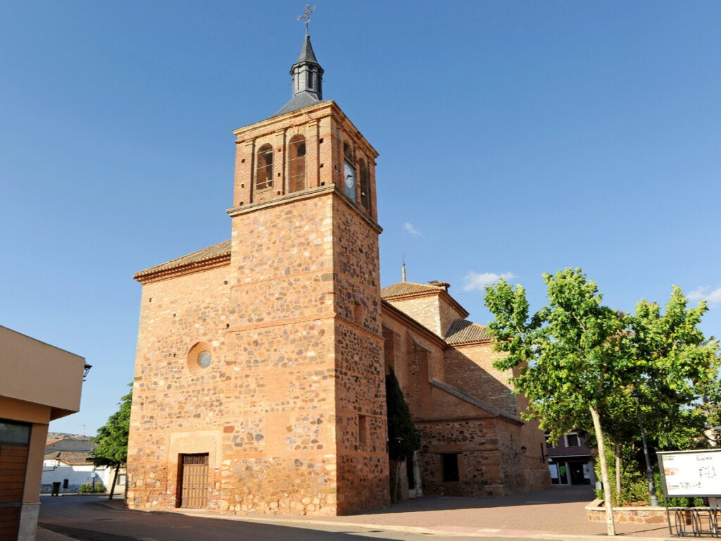 Iglesia de Santa Ana, en Granátula de Calatrava.