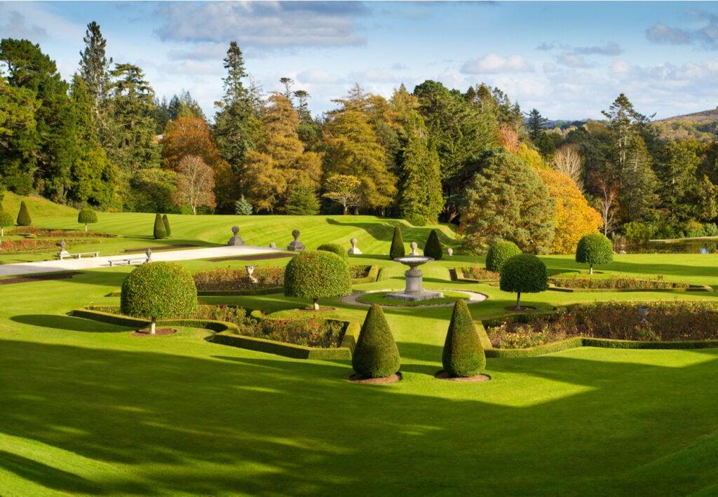 Los jardines de Powerscourt, un bello lugar en Irlanda.