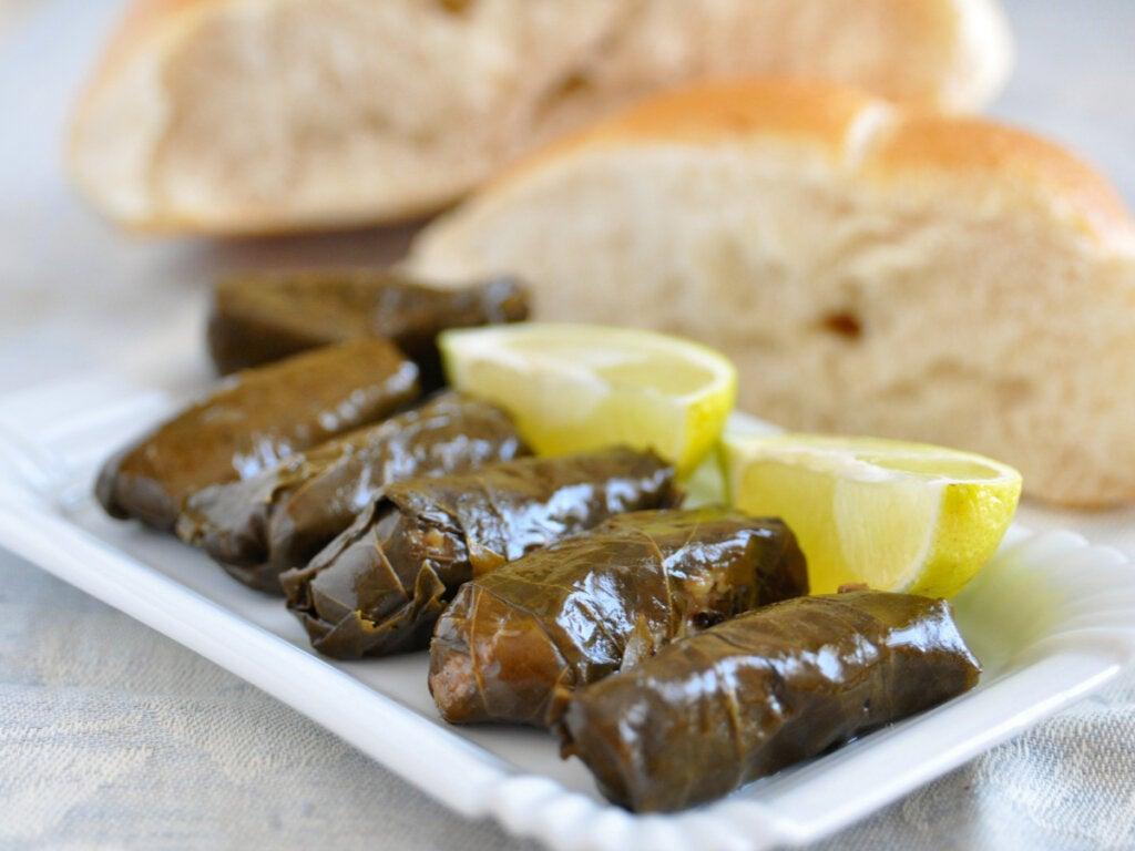 Sardms é um prato típico da Macedônia.