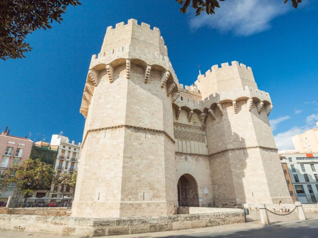 Las torres de Serranos: conoce su historia
