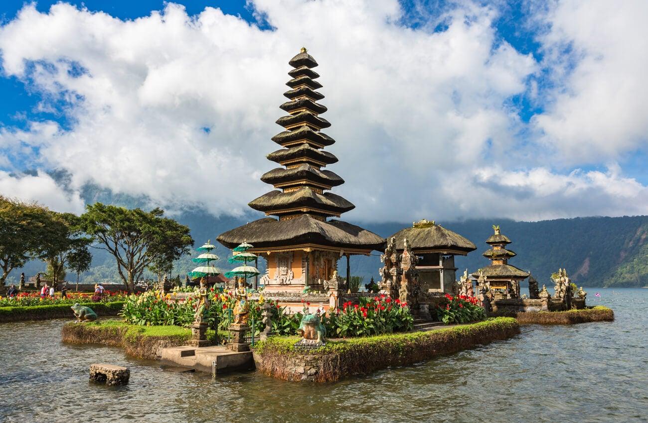 Ulun Danu Batur, el templo flotante de Bali