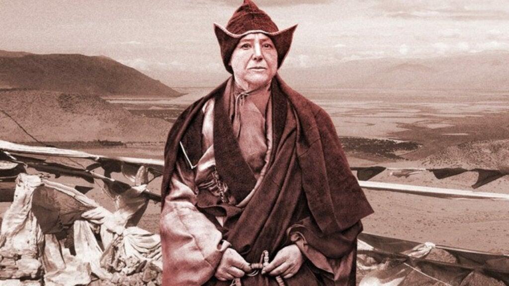 Alexandra David-Neel fue una de las viajeras más famosas de la historia.