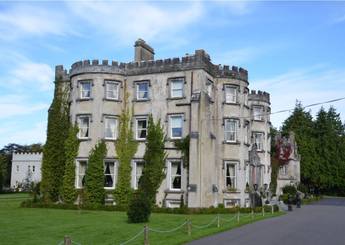 Ballyseede Castle, un bello hotel en Irlanda.