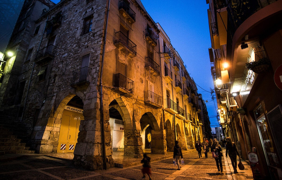 La calle Mercerías es un símbolo de Tarragona.