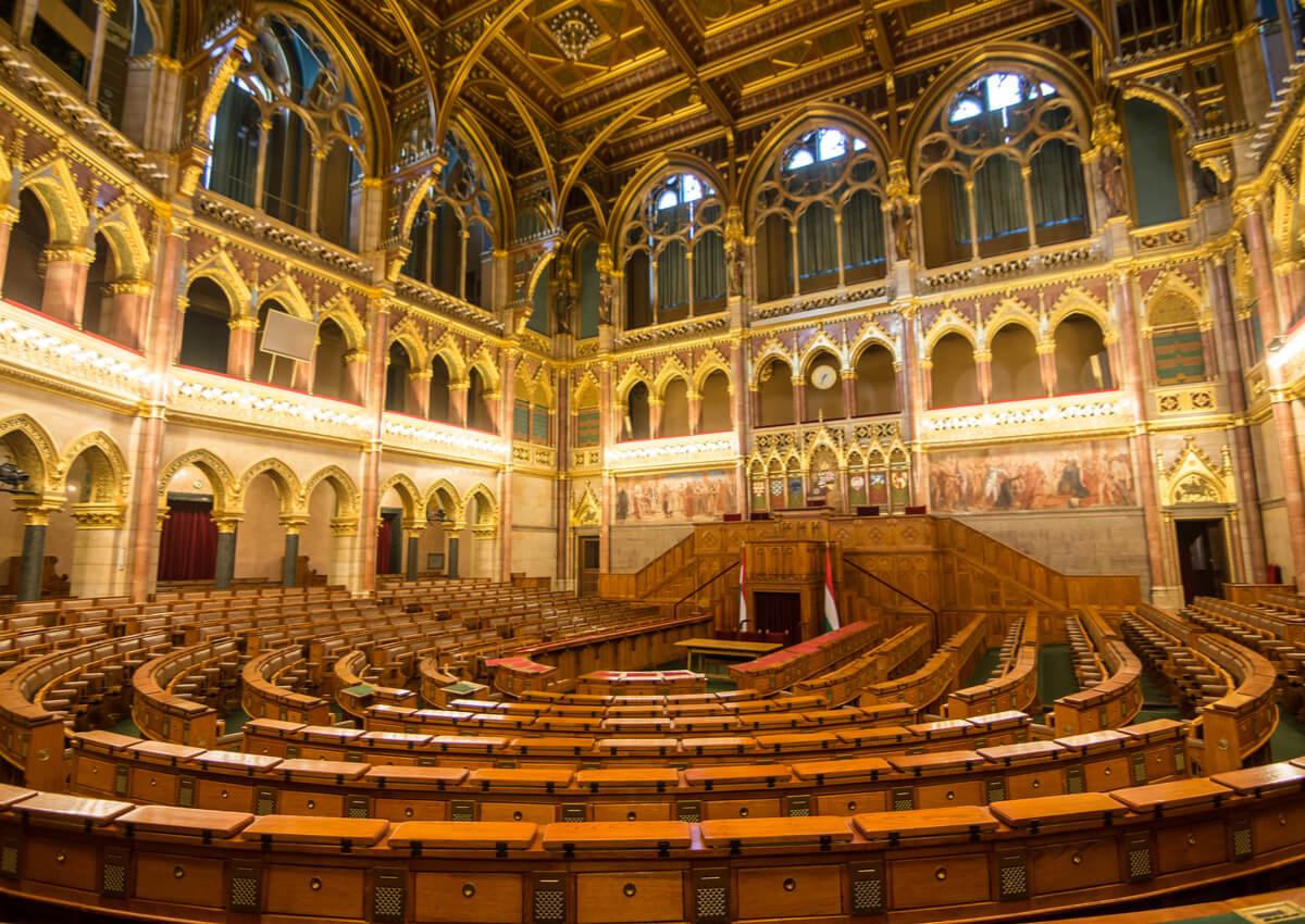 La Cámara Baja del Parlamento de Hungría.