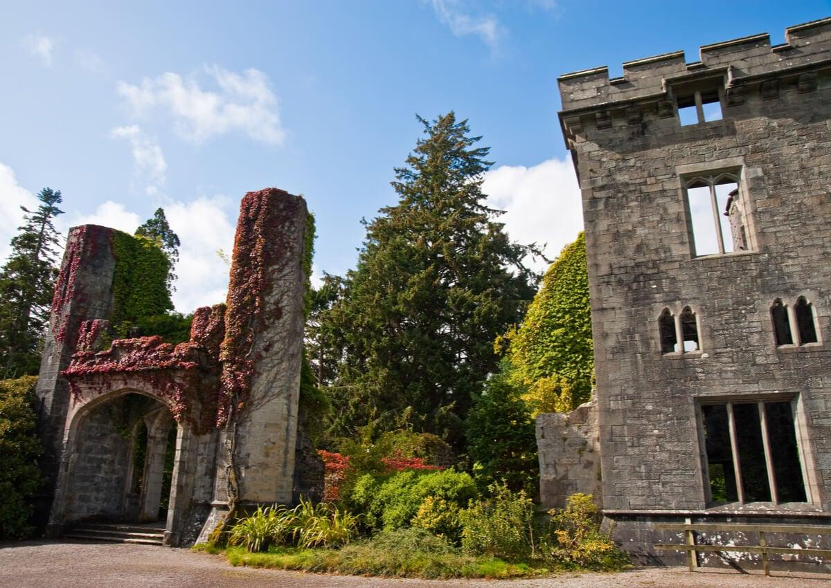 El castillo Armadale, ubicado en la isla de Skye.