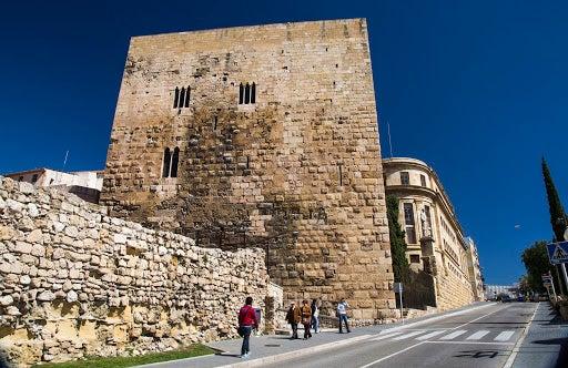 El Castillo del Rey en Tarragona.