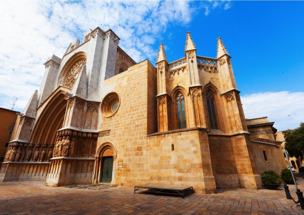 La Catedral es una muestra de la arquitectura medieval de Tarragona.