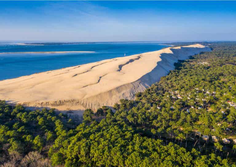 La gran duna de Pilat y su entorno marítimo