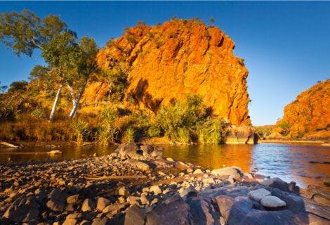 Formaciones rocosas de Kimberley, Australia.