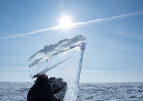 Los pozos de nieve servían para fabricar hielo.