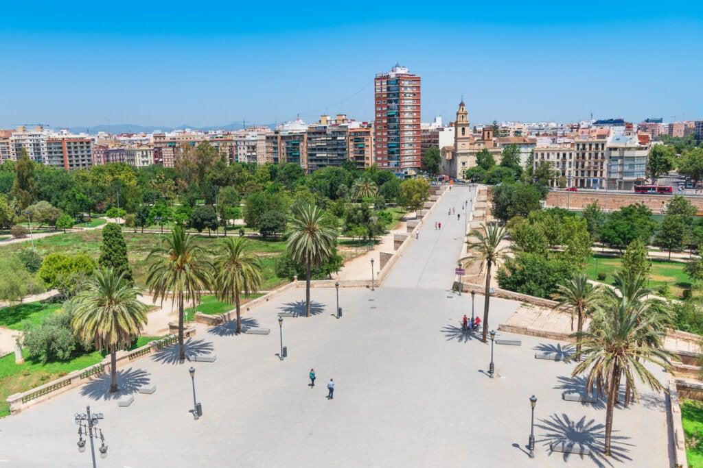 Un paseo por el Jardín del Turia en Valencia