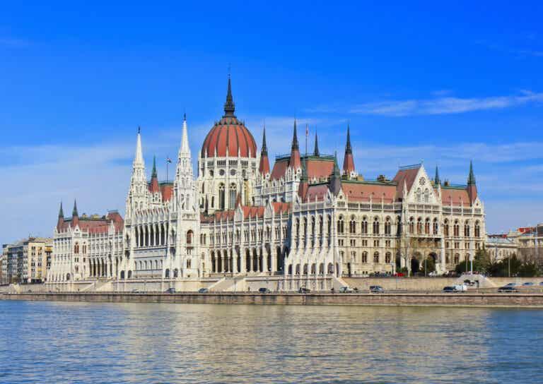 El Parlamento de Budapest en Hungría