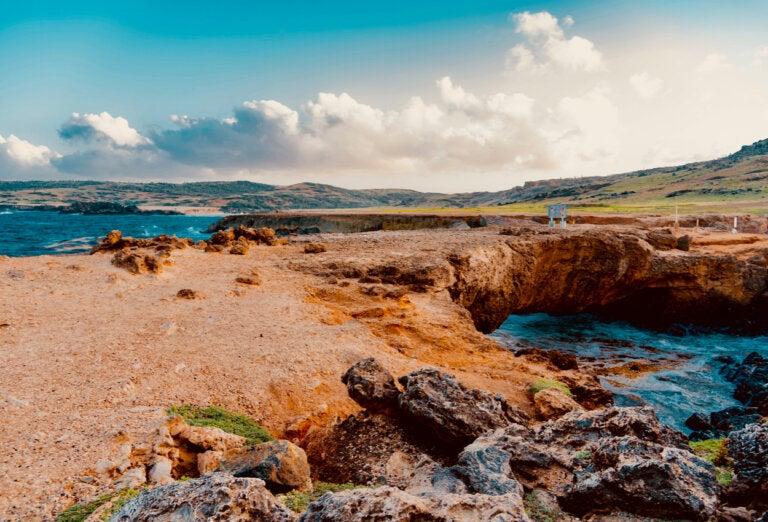 Conoce las piscinas naturales en Aruba