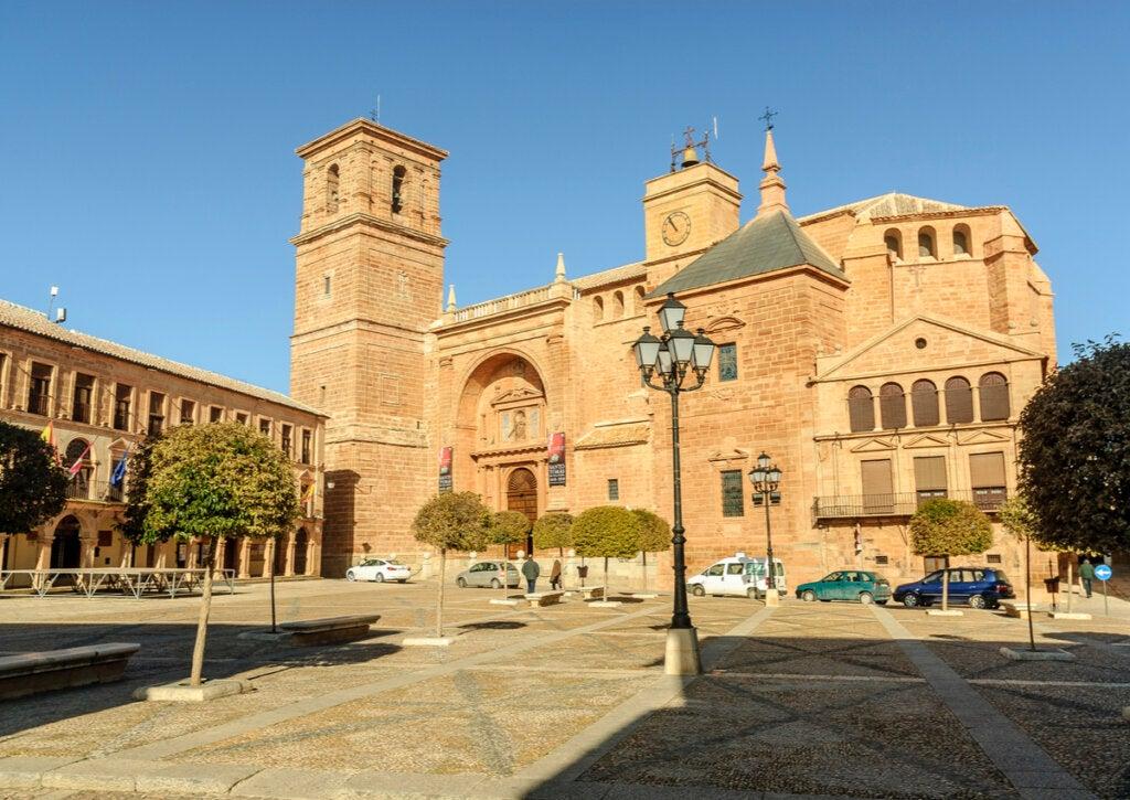 La Plaza Mayor de Villanueva de los Infantes