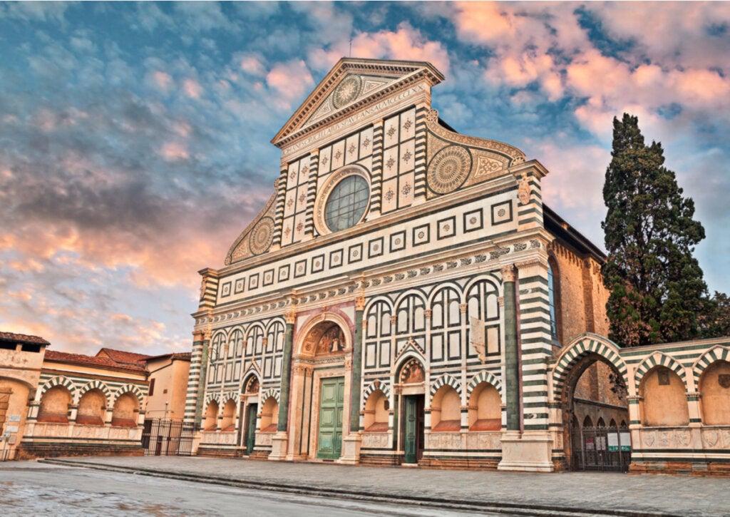 El templo de Santa María Novella de Florencia