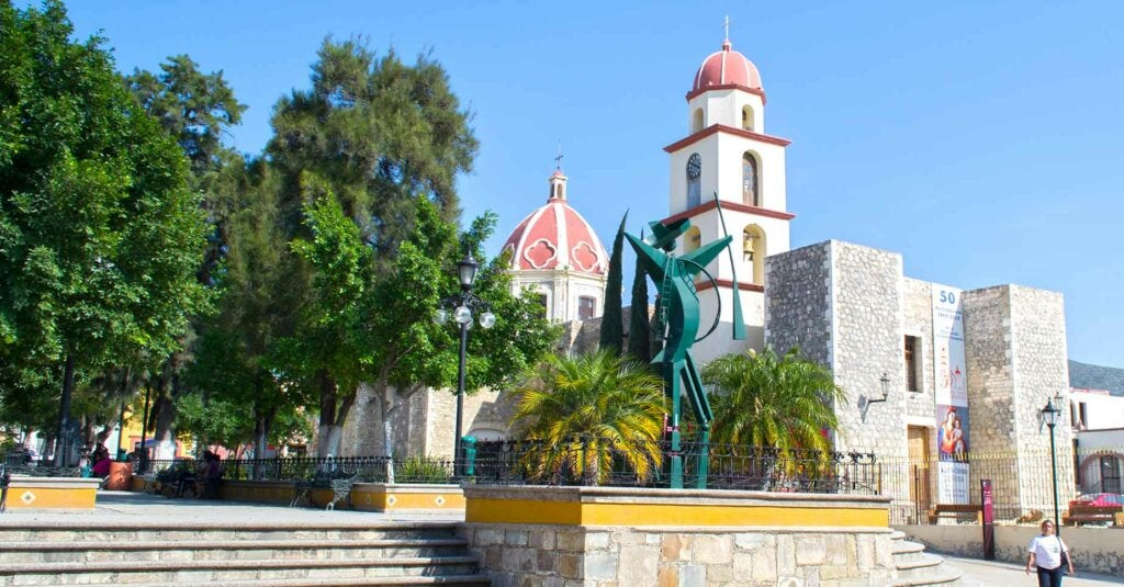 La Capilla del Rosario en Tula, Tamaulipas.