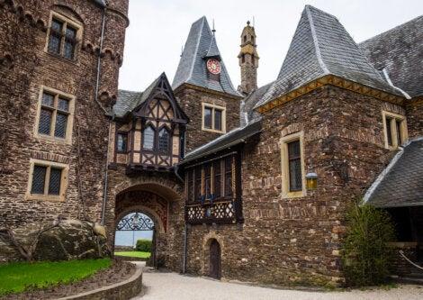 Pasillos internos del Castillo de Cochem, en Alemania.