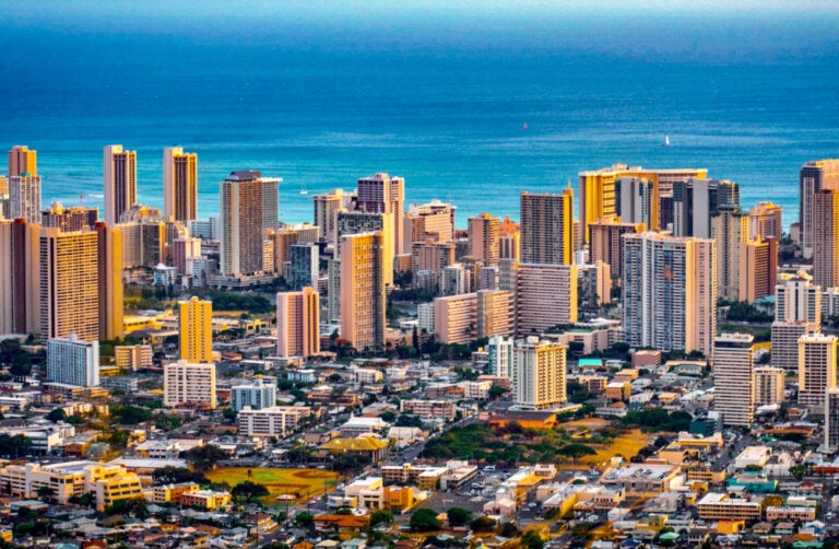 Oahu en Hawái: la isla más poblada