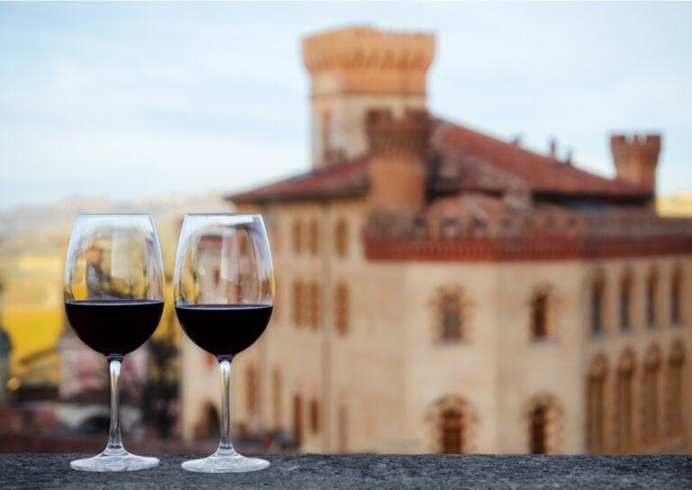 Historia de la fontana del vino en Italia