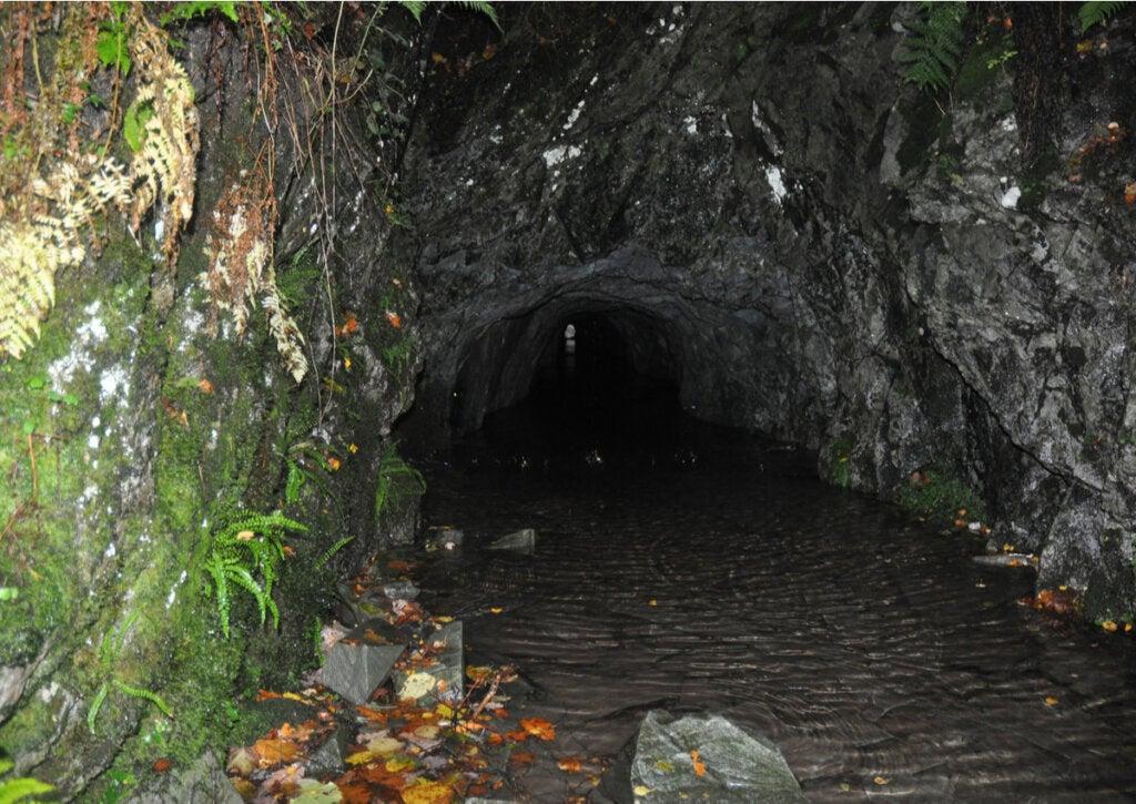 La cantera de Hodge Close es un lugar aterrador en Inglaterra.