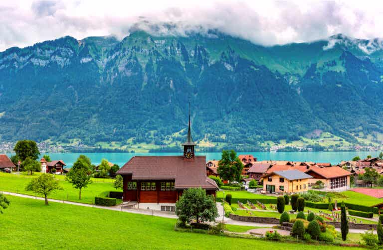 Iseltwald en Suiza: un lugar muy tranquilo