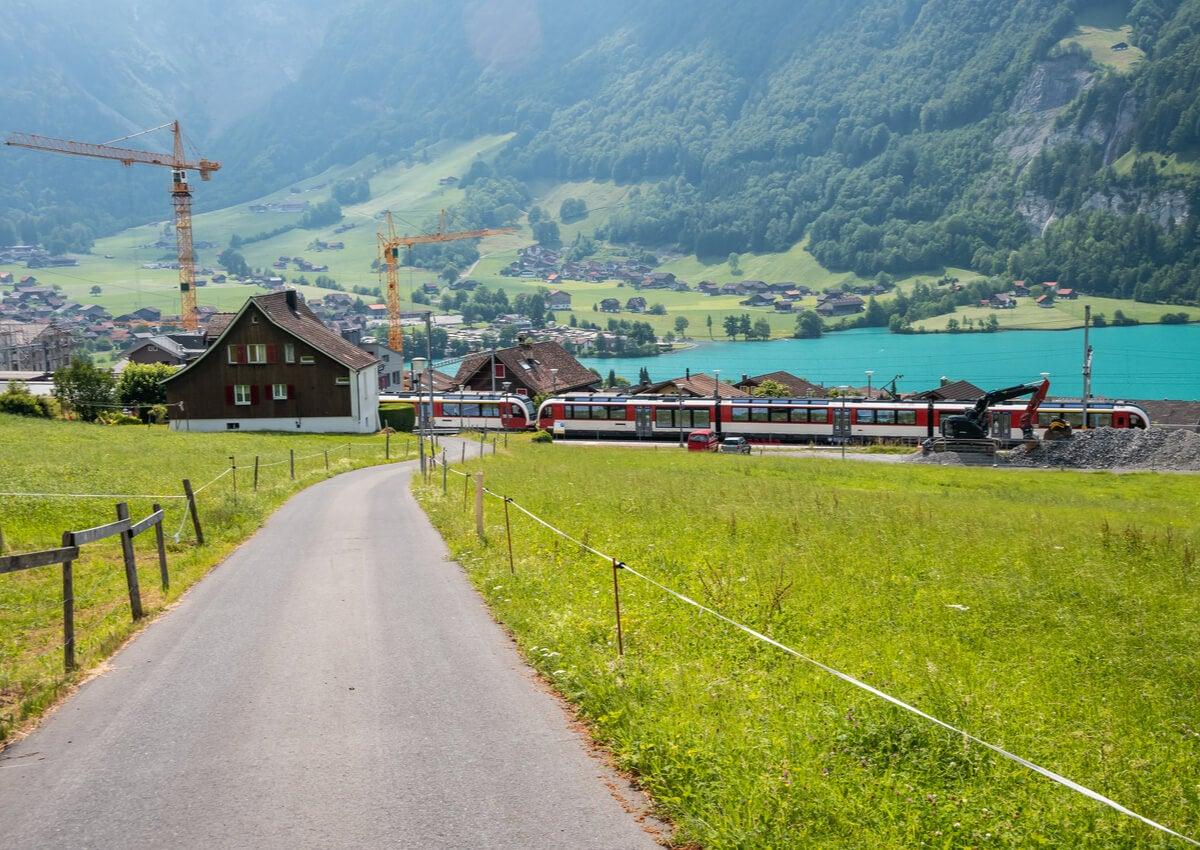 El Lungernsee es un lago precioso ubicado en Suiza.