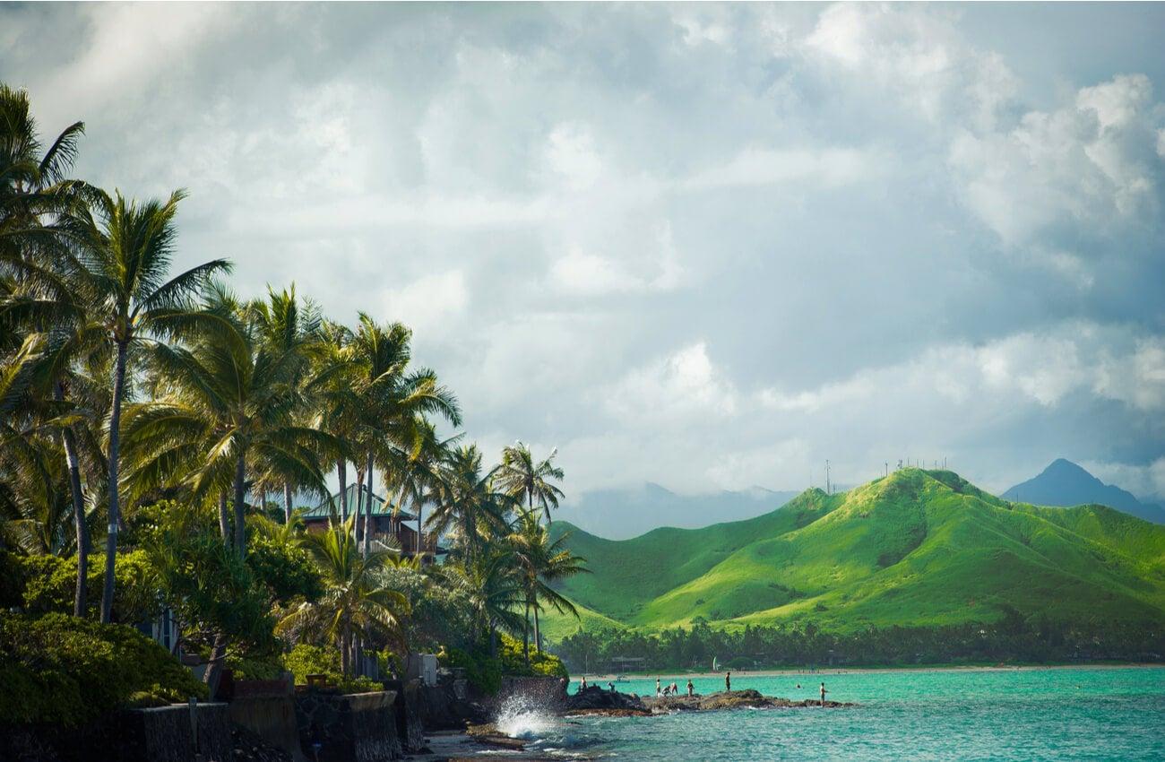 Oahu es la isla más poblada de Hawái.